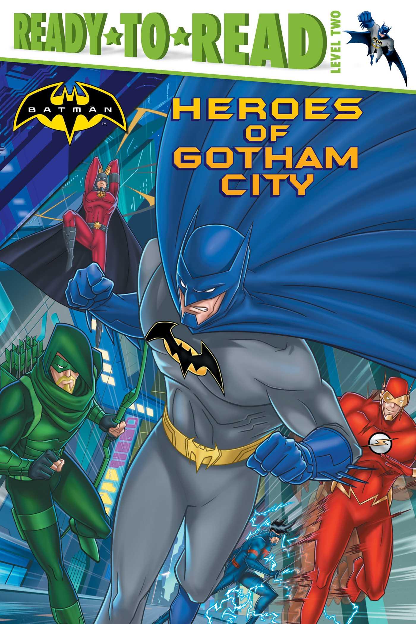 Heroes of gotham city 9781481477215 hr