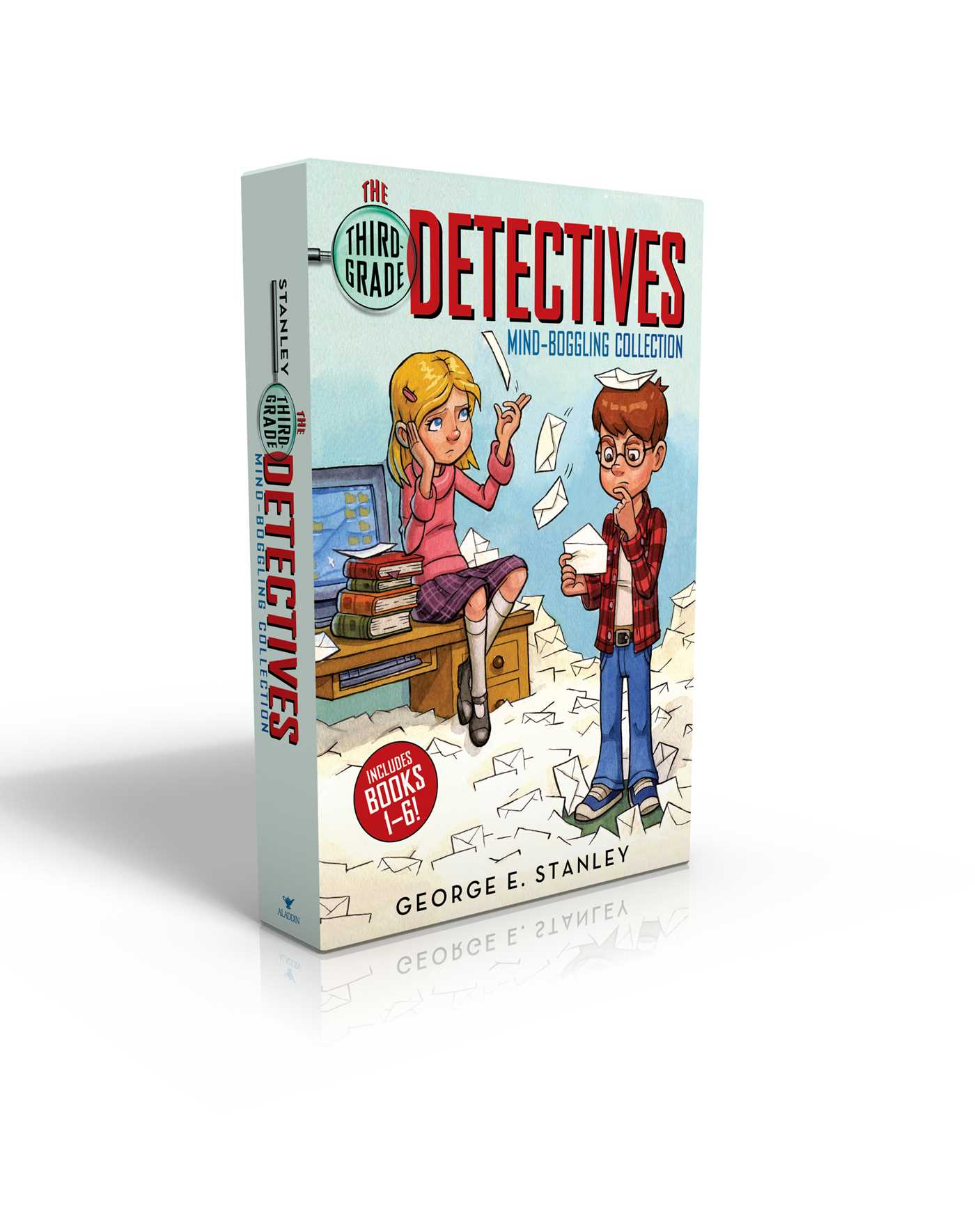The third grade detectives mind boggling collection 9781481477390 hr