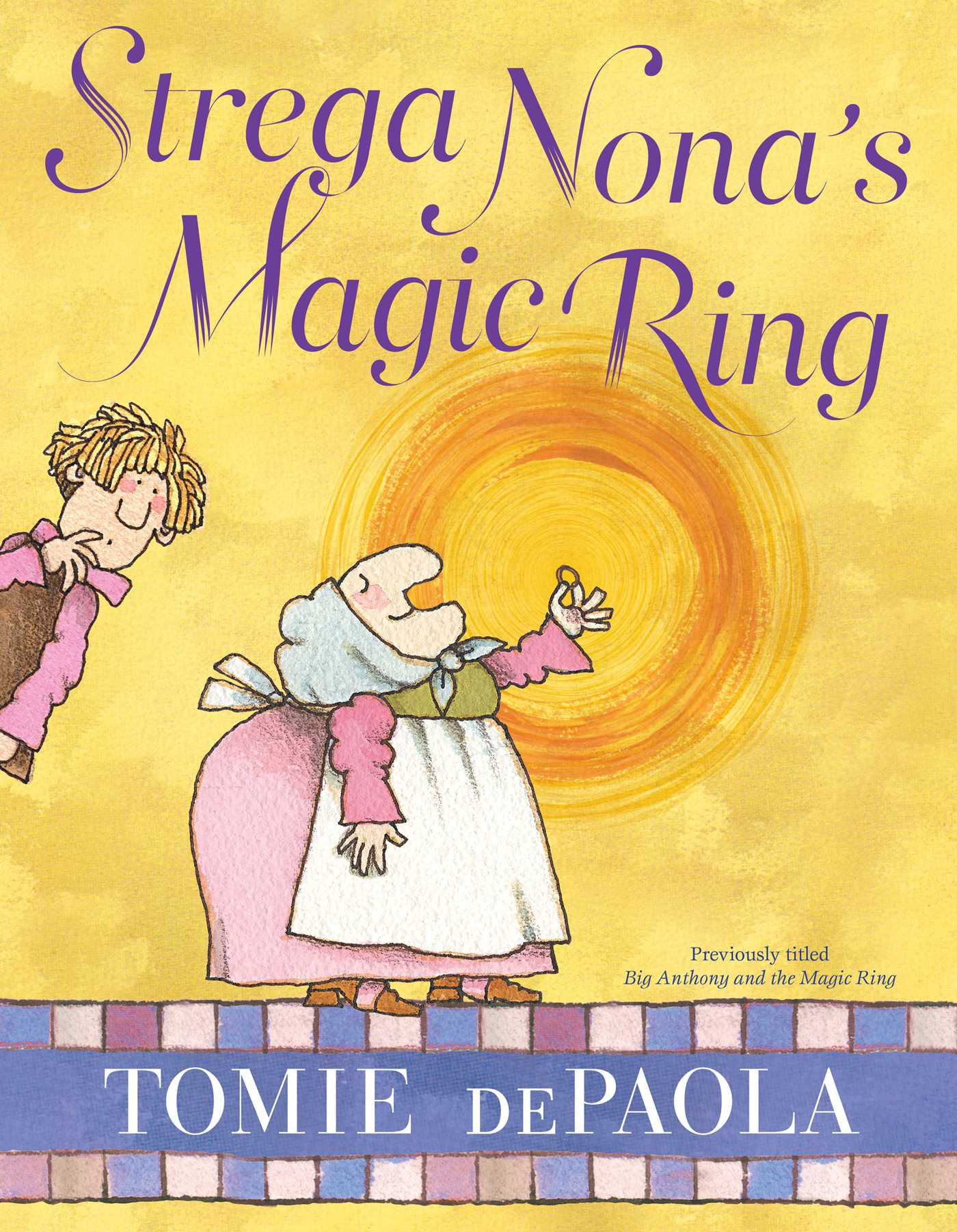 Strega nonas magic ring 9781481477611 hr