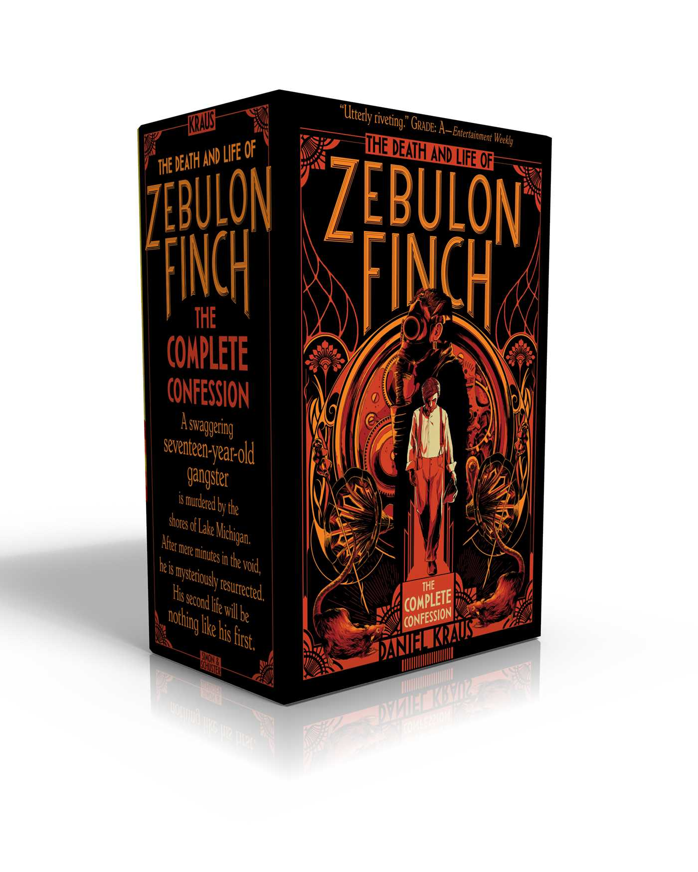 The death and life of zebulon finch the complete confession 9781481477994 hr