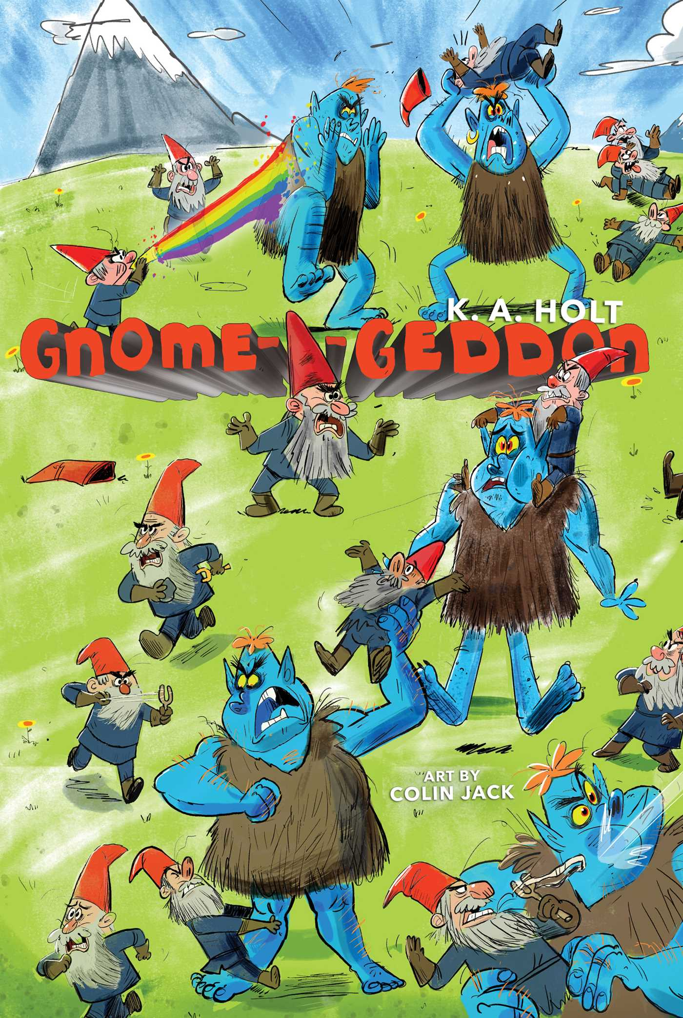 Gnome a geddon 9781481478458 hr