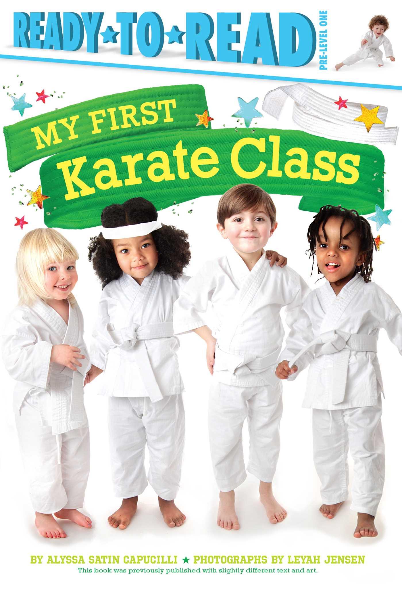My first karate class 9781481479318 hr