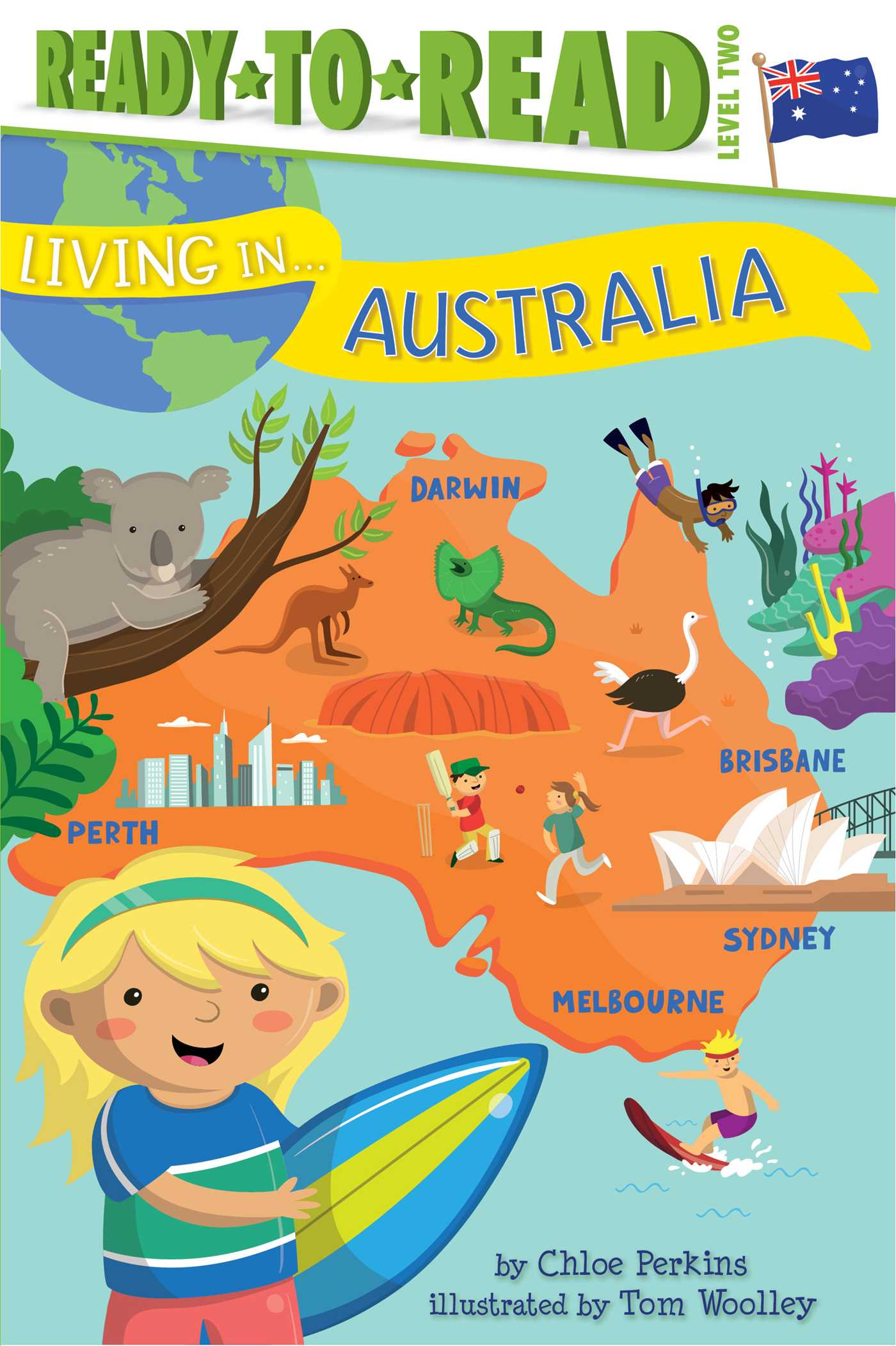 Living in australia 9781481480932 hr