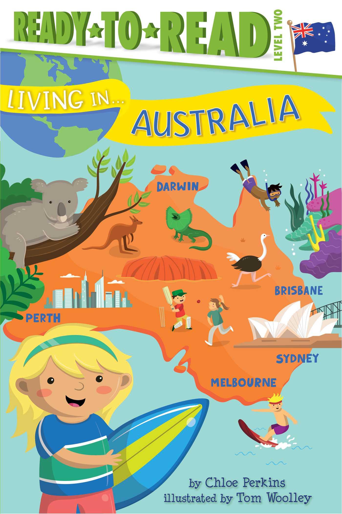 Living in australia 9781481480949 hr