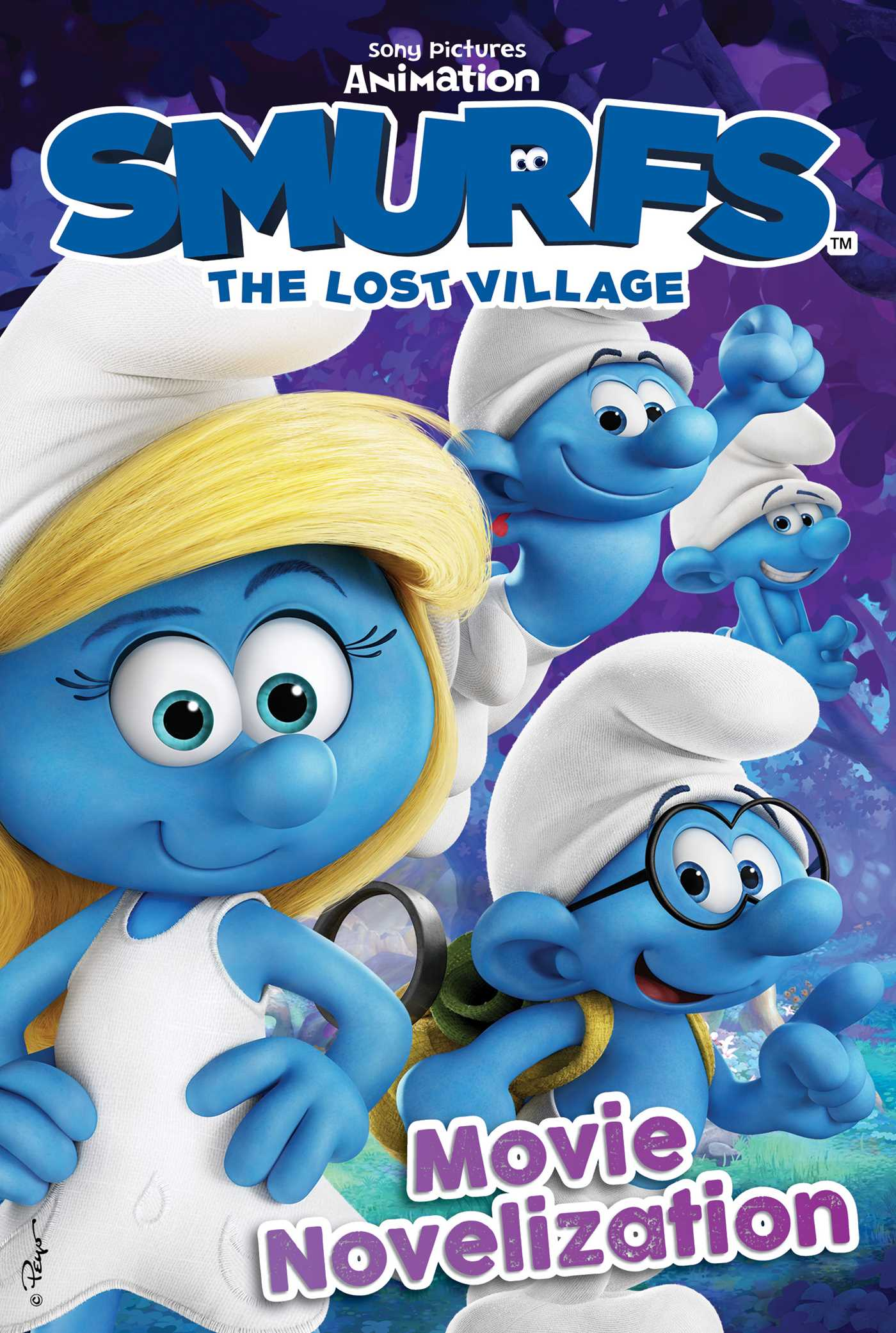 Smurfs The Lost Village Movie Novelization | Book by ...