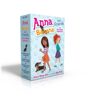 Anna, Banana, and Friends -- A Four-Book Collection!