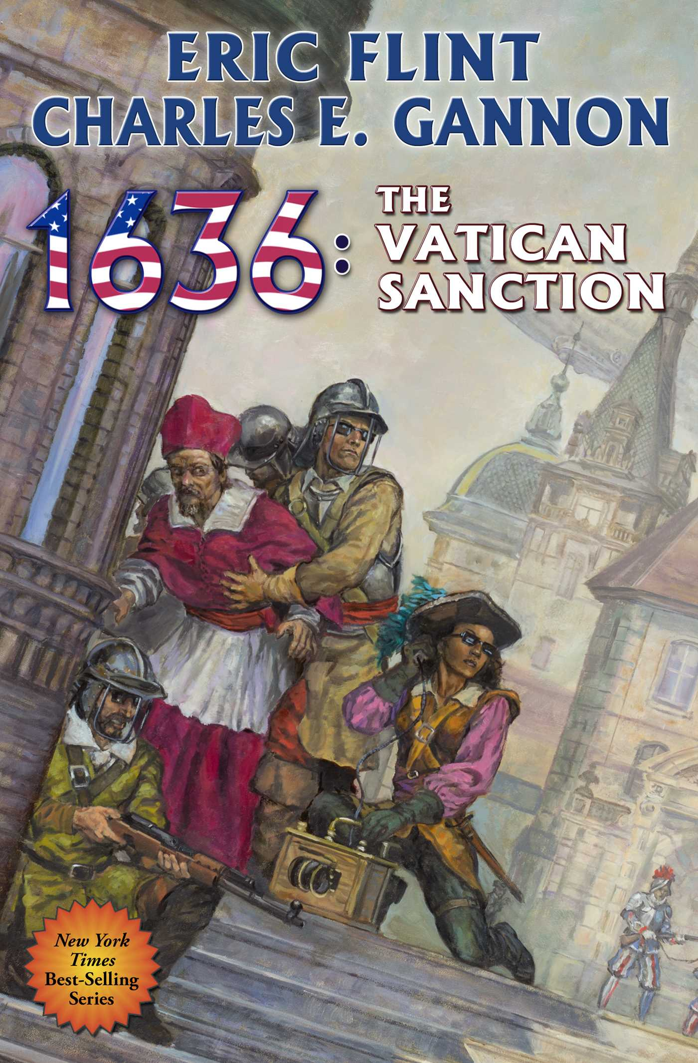 Book Cover Image (jpg): 1636: The Vatican Sanction