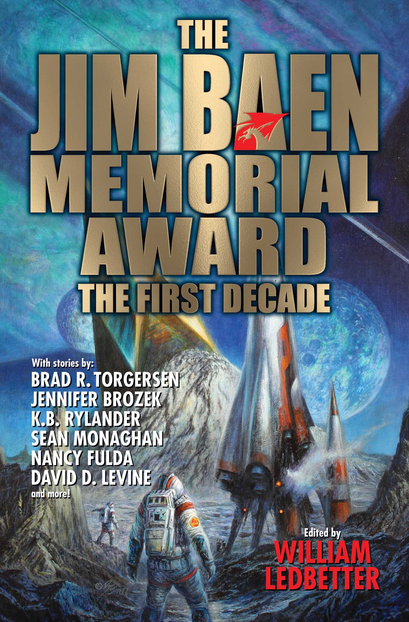 The jim baen memorial award the first decade 9781481482813 hr