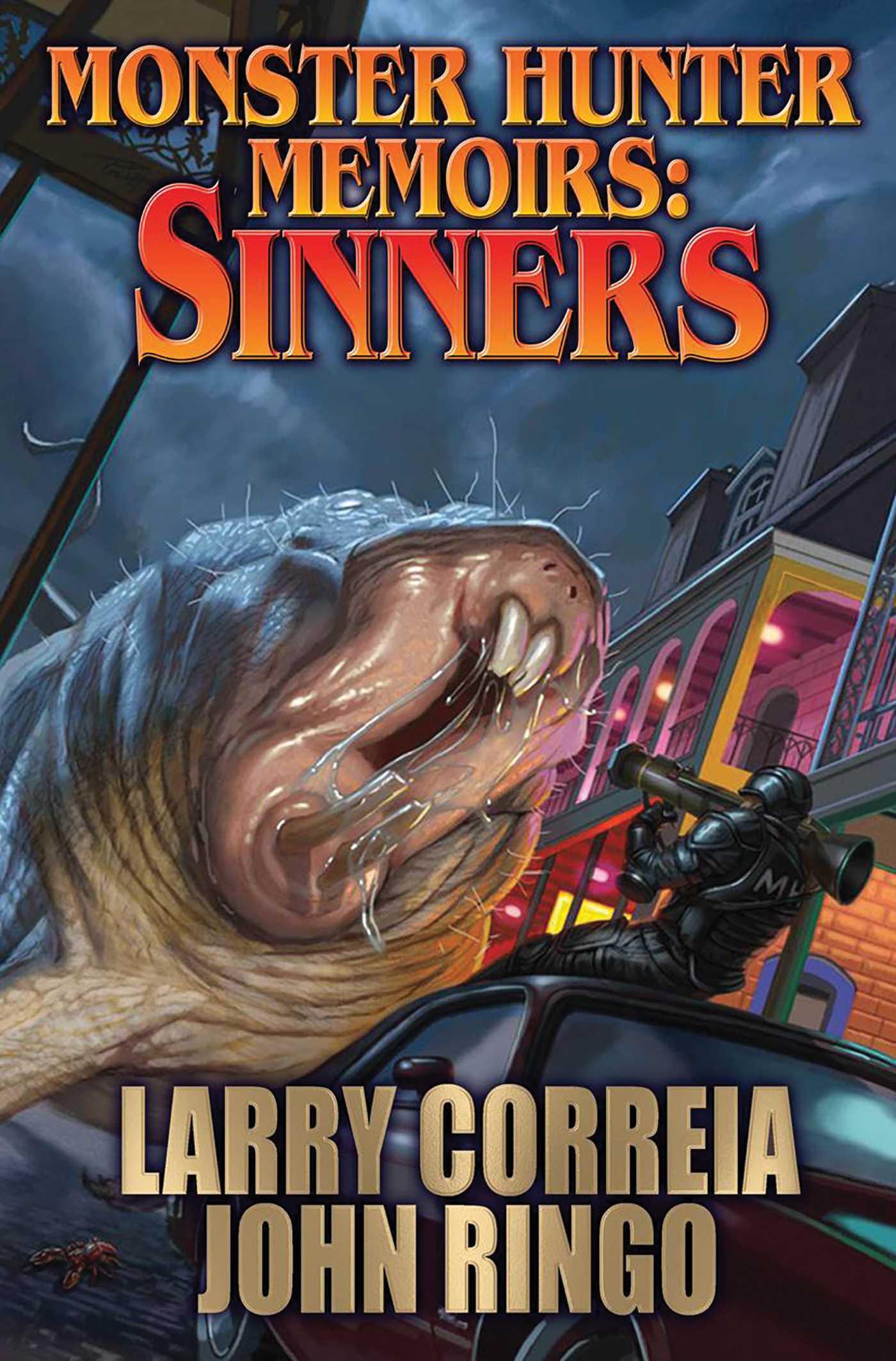 Monster hunter memoirs sinners 9781481482875 hr