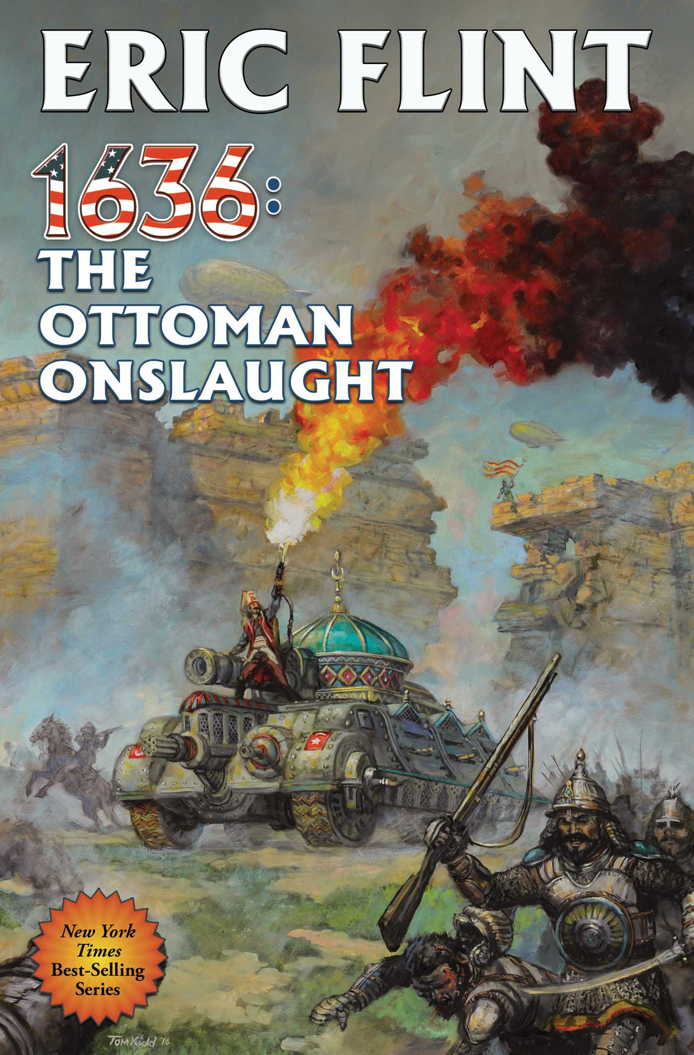 Book Cover Image (jpg): 1636: The Ottoman Onslaught