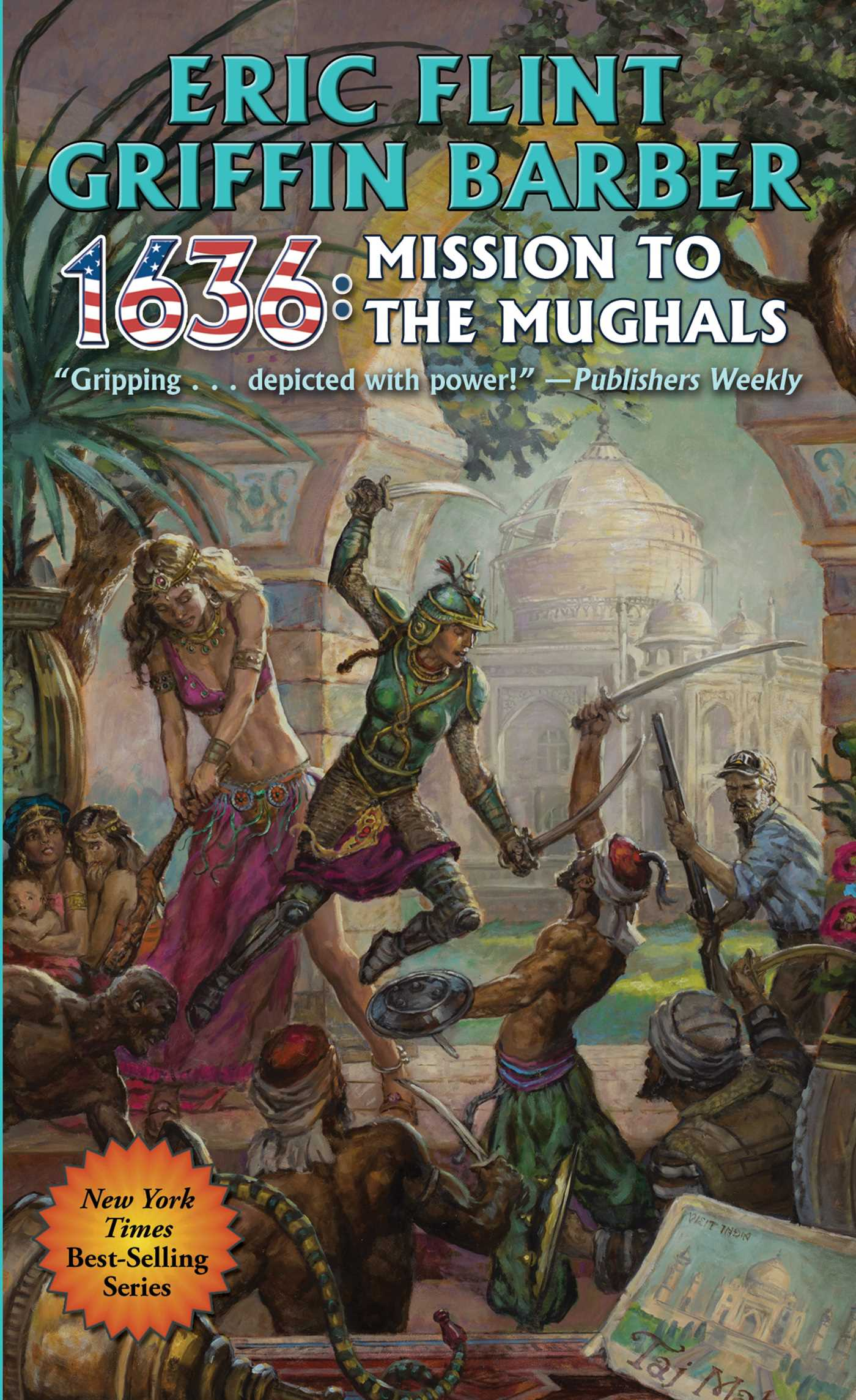 1636 mission to the mughals 9781481483018 hr