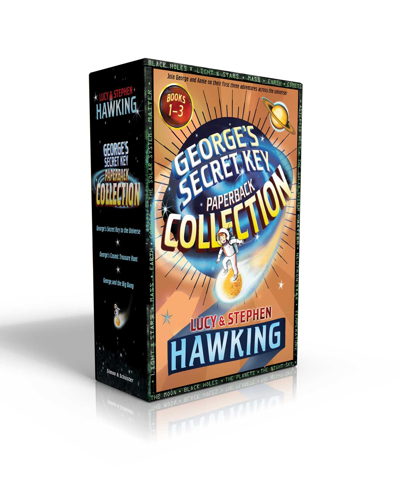 Georges secret key paperback collection 9781481484343 hr