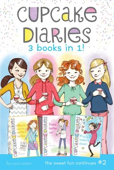 Cupcake Diaries 3 Books in 1! #2