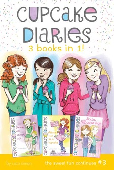 Cupcake Diaries 3 Books in 1! #3