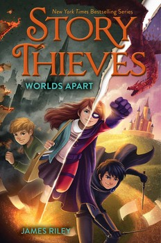Story Thieves Books By James Riley Chris Eliopoulos And