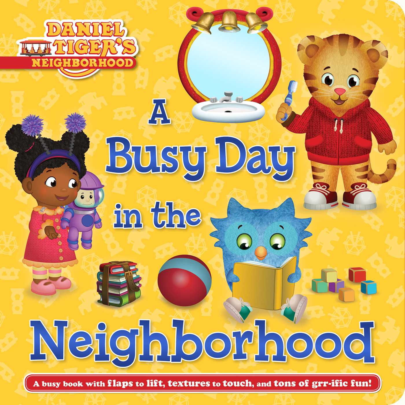 A busy day in the neighborhood 9781481485838 hr