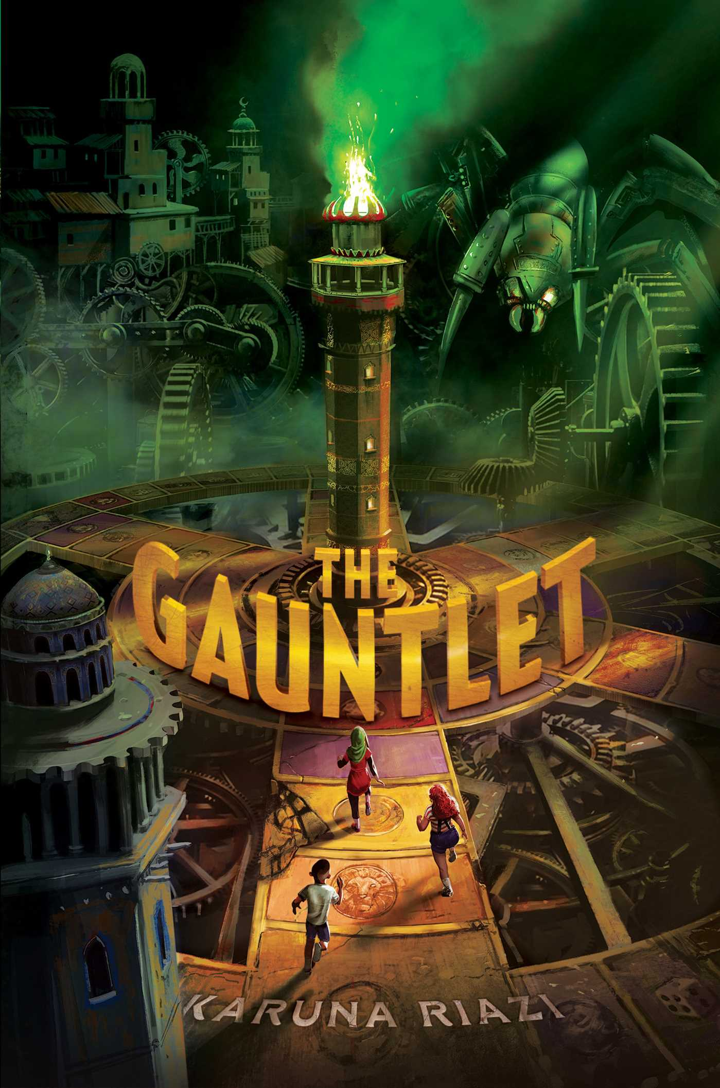 The gauntlet 9781481486965 hr