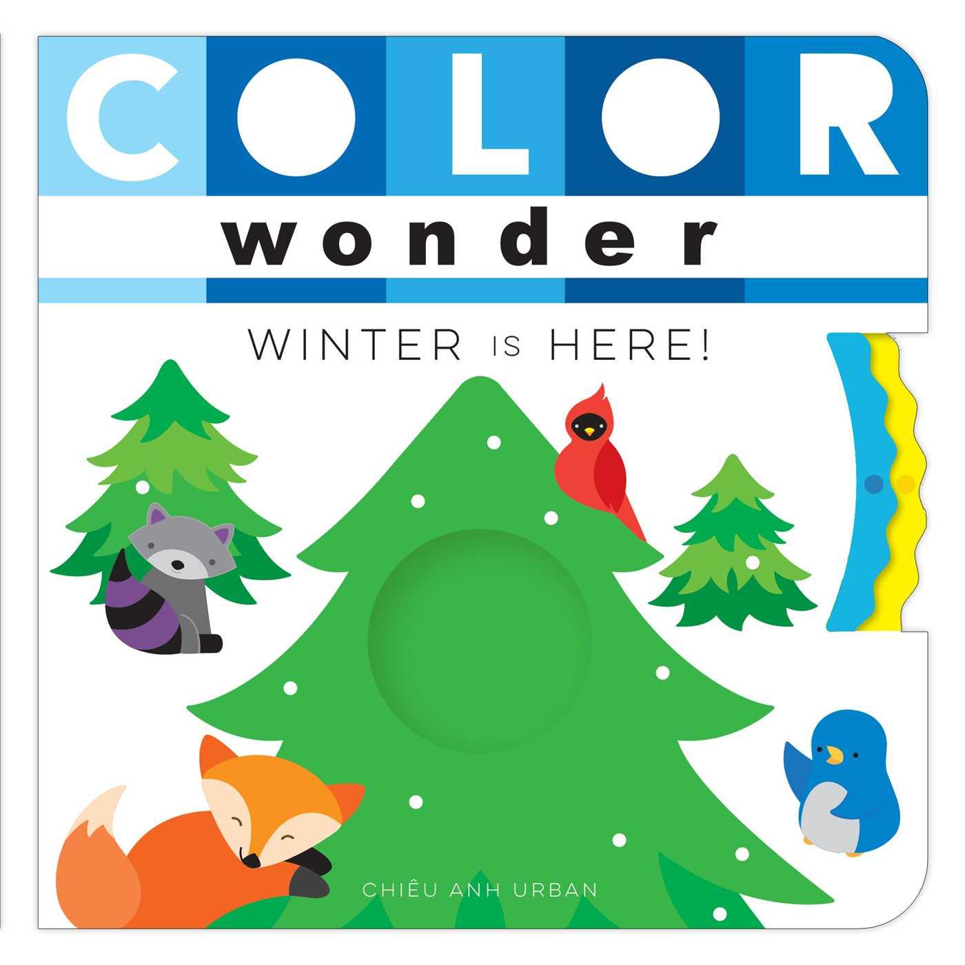 Color wonder winter is here 9781481487214 hr