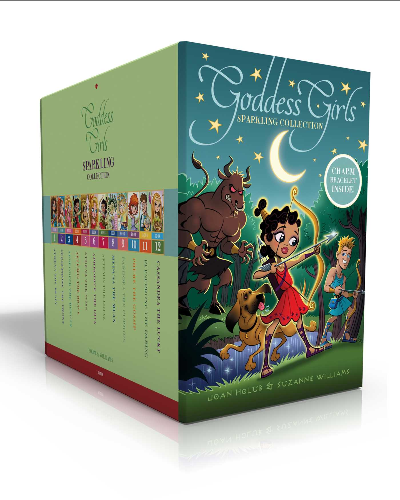 Goddess Girls Sparkling Collection (Charm Bracelet Inside
