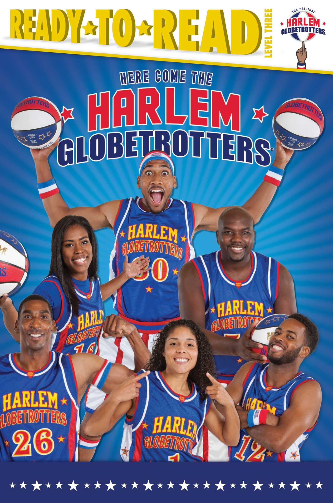 Here come the harlem globetrotters 9781481487467 hr
