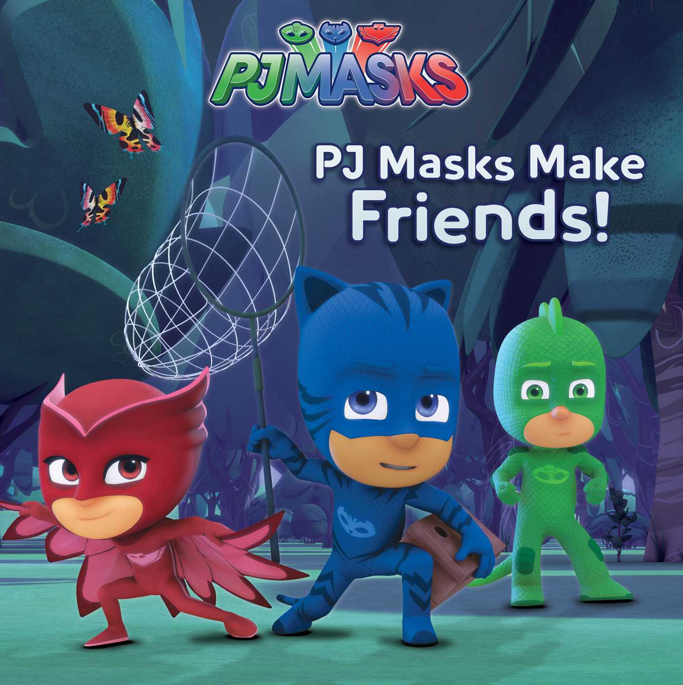 pj masks make friends book by cala spinner style guide