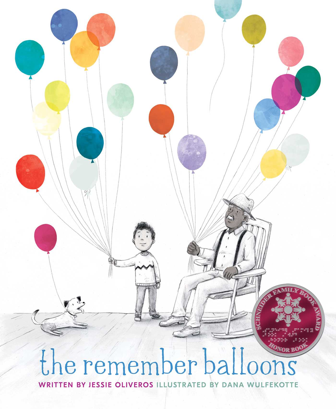 The remember balloons 9781481489157 hr