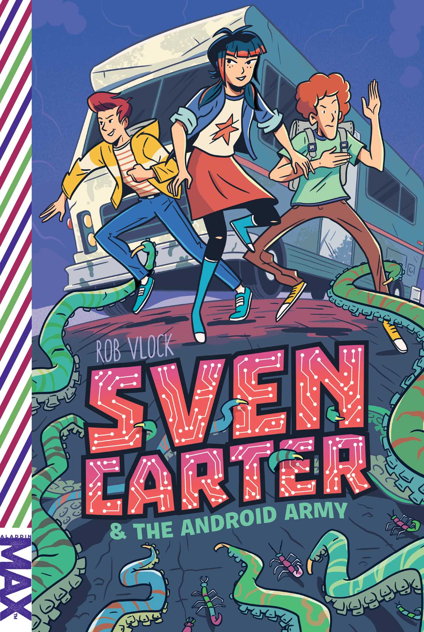 Sven carter the android army 9781481490160 hr