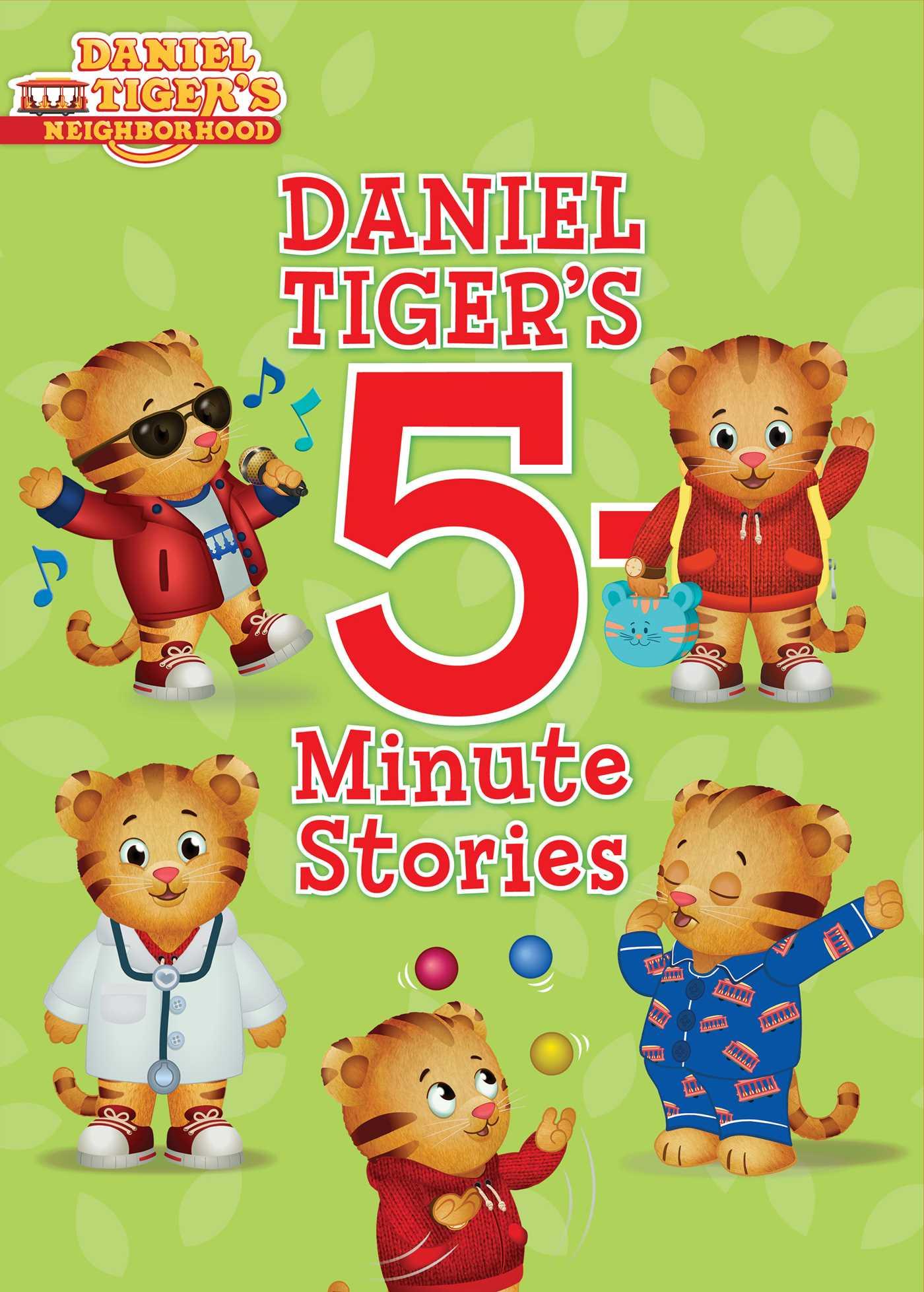 Daniel tigers 5 minute stories 9781481492201 hr
