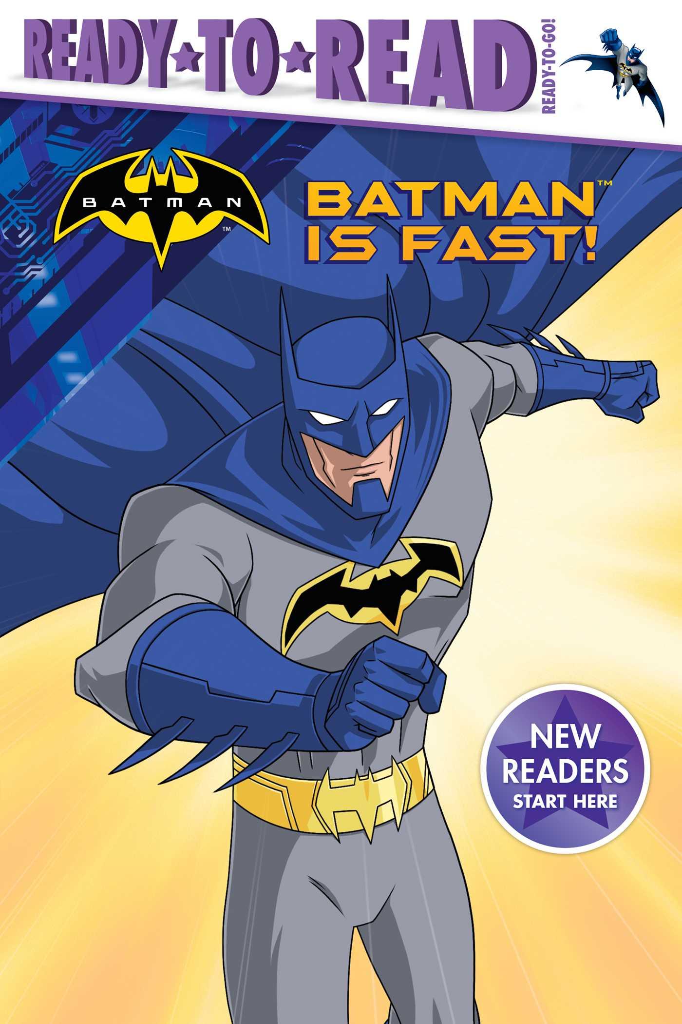 Batman is fast 9781481495332 hr