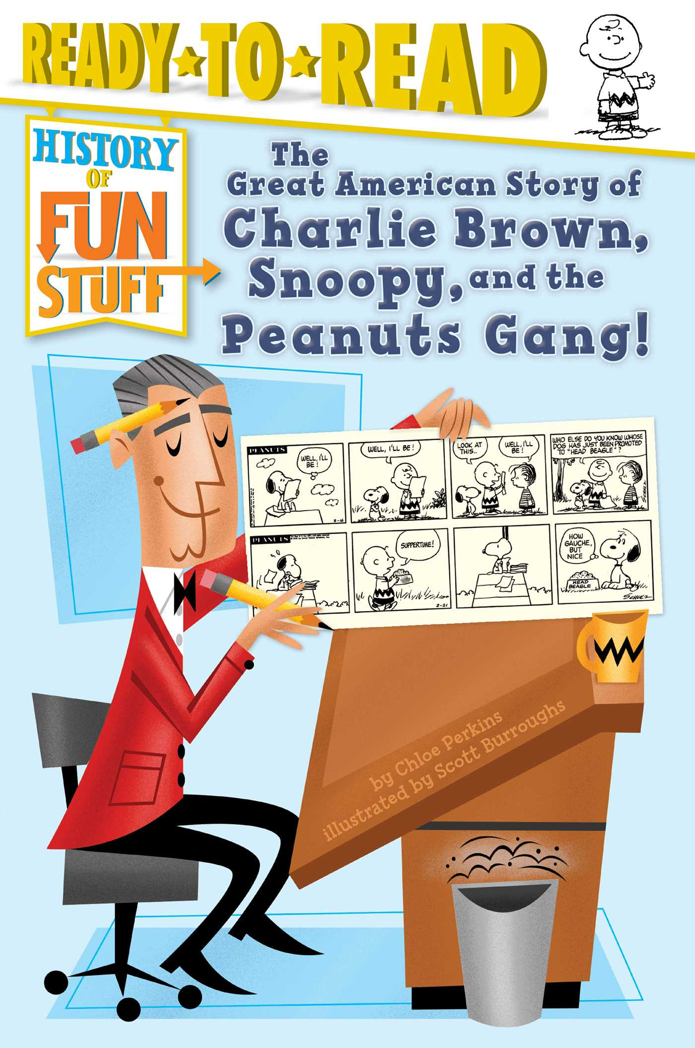 The great american story of charlie brown snoopy and the peanuts gang 9781481495530 hr