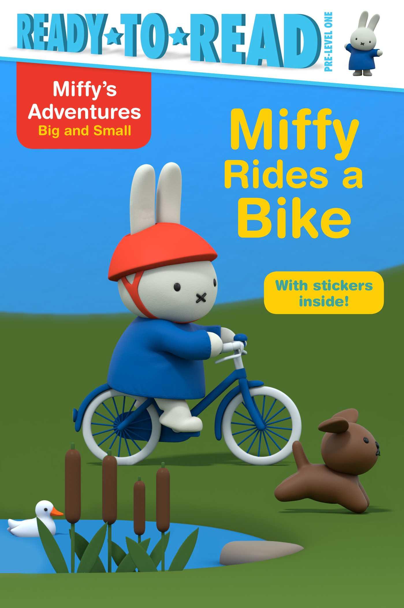 Miffy rides a bike 9781481495622 hr