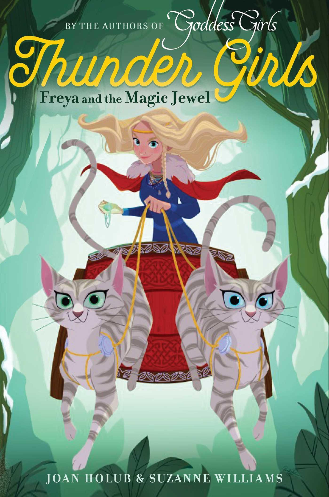 Freya and the magic jewel 9781481496407 hr