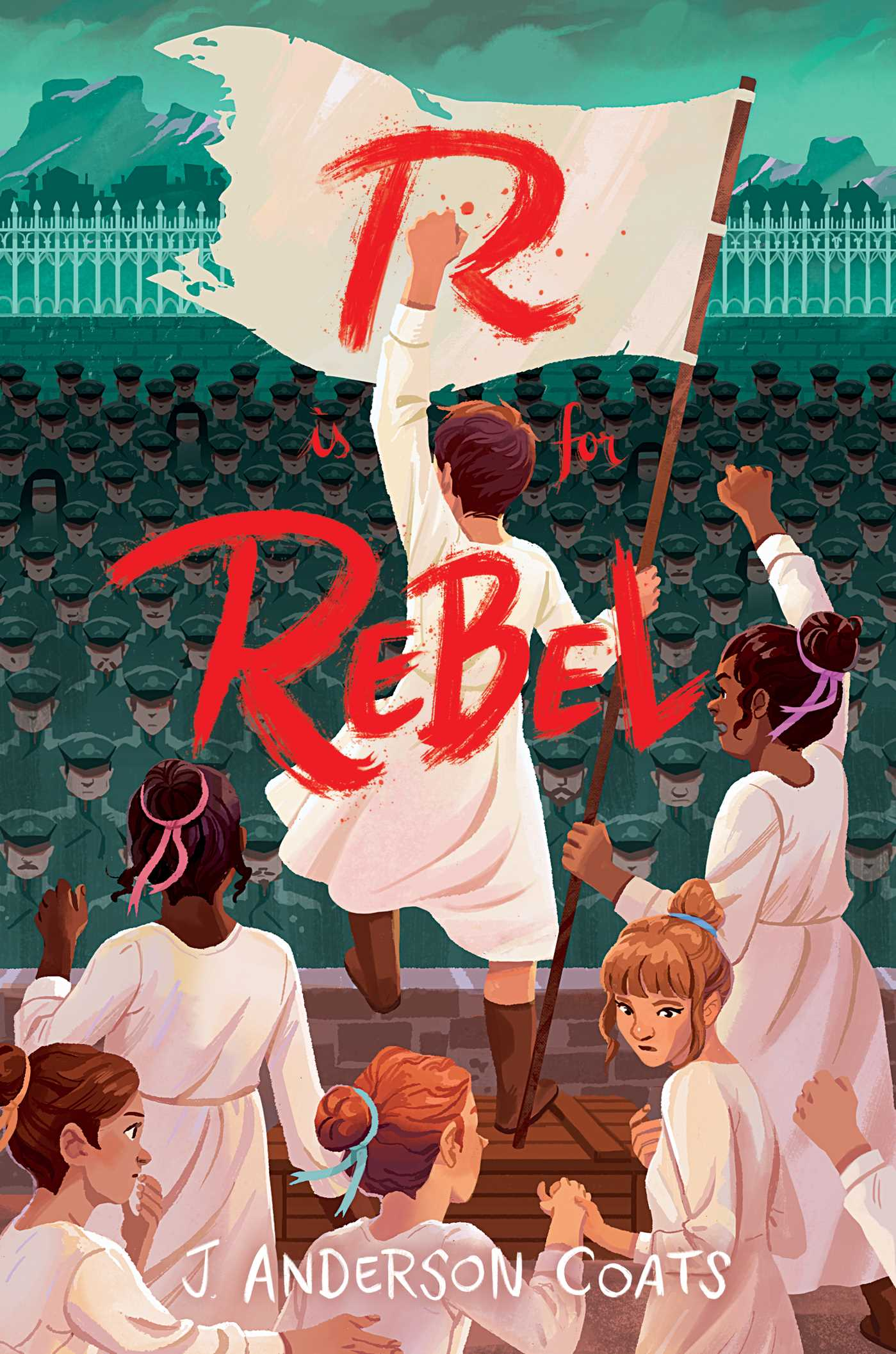 R is for rebel 9781481496674 hr