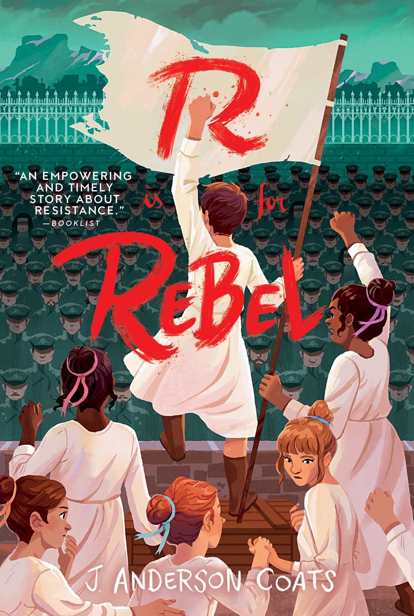 R is for rebel 9781481496698 hr