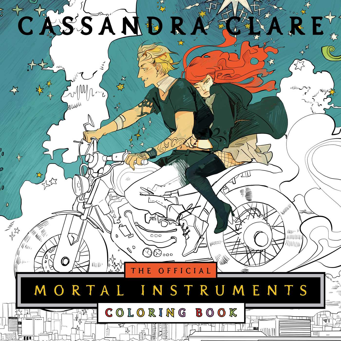 The Official Mortal Instruments Coloring Book 9781481497565 Hr