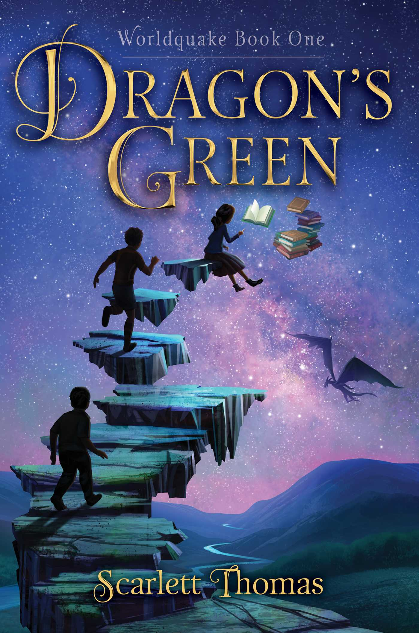 Book Cover Series S : Dragon s green book by scarlett thomas official