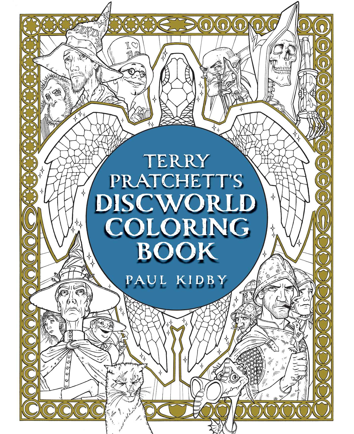 Terry pratchetts discworld coloring book 9781481498463 hr