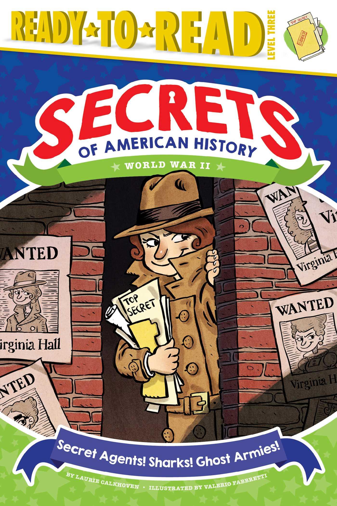 Secret agents sharks ghost armies 9781481499484 hr
