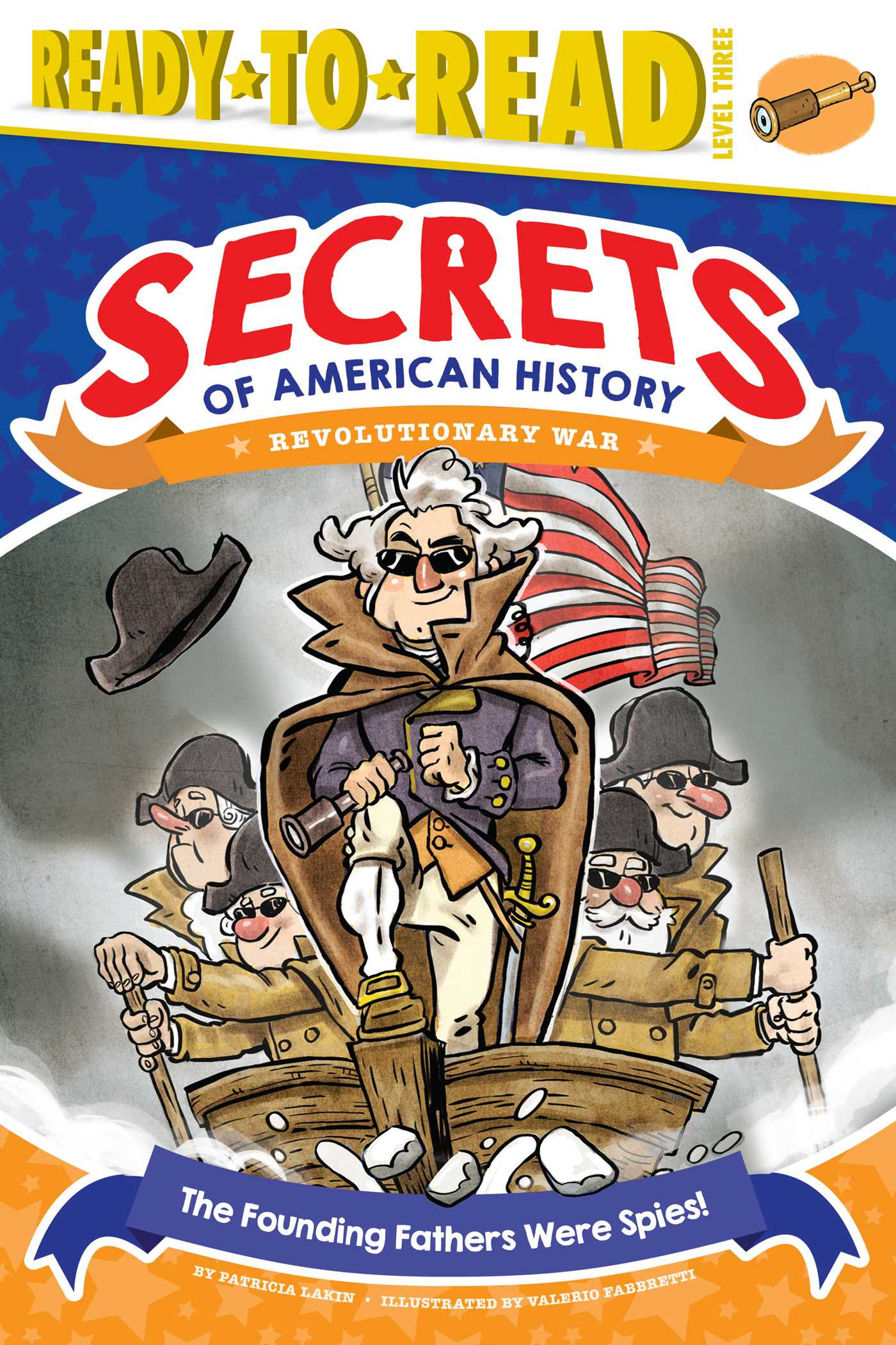 The founding fathers were spies 9781481499699 hr