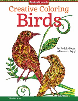 Creative Coloring Birds | Book by Valentina Harper | Official ...