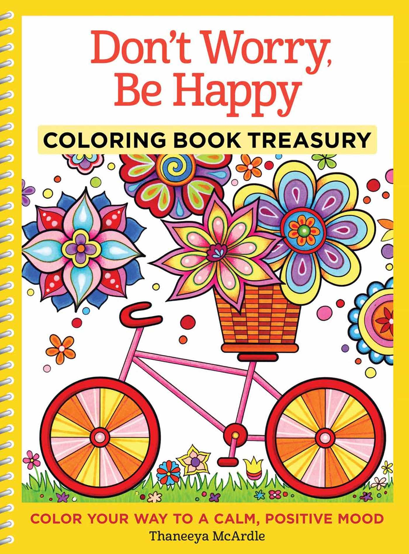 Don\'t Worry, Be Happy Coloring Book Treasury | Book by Thaneeya ...
