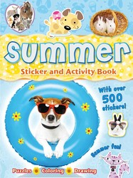 Summer Sticker and Activity Book
