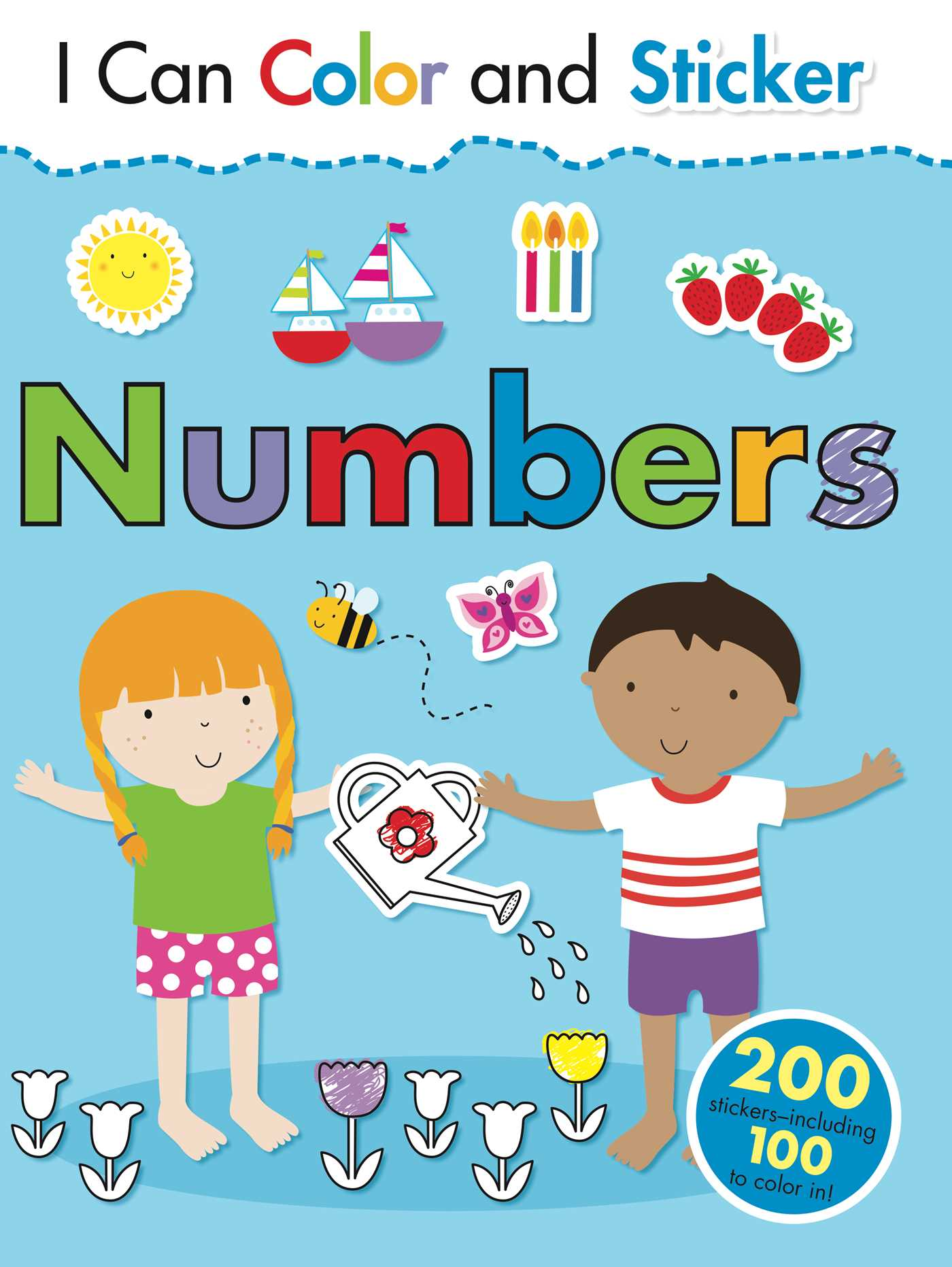 I Can Color and Sticker: Numbers | Book by Gemma Cooper, Helen Prole ...