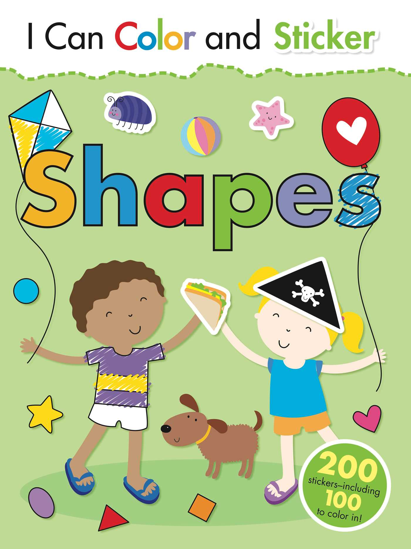 I Can Color and Sticker: Shapes | Book by Gemma Cooper, Helen Prole ...