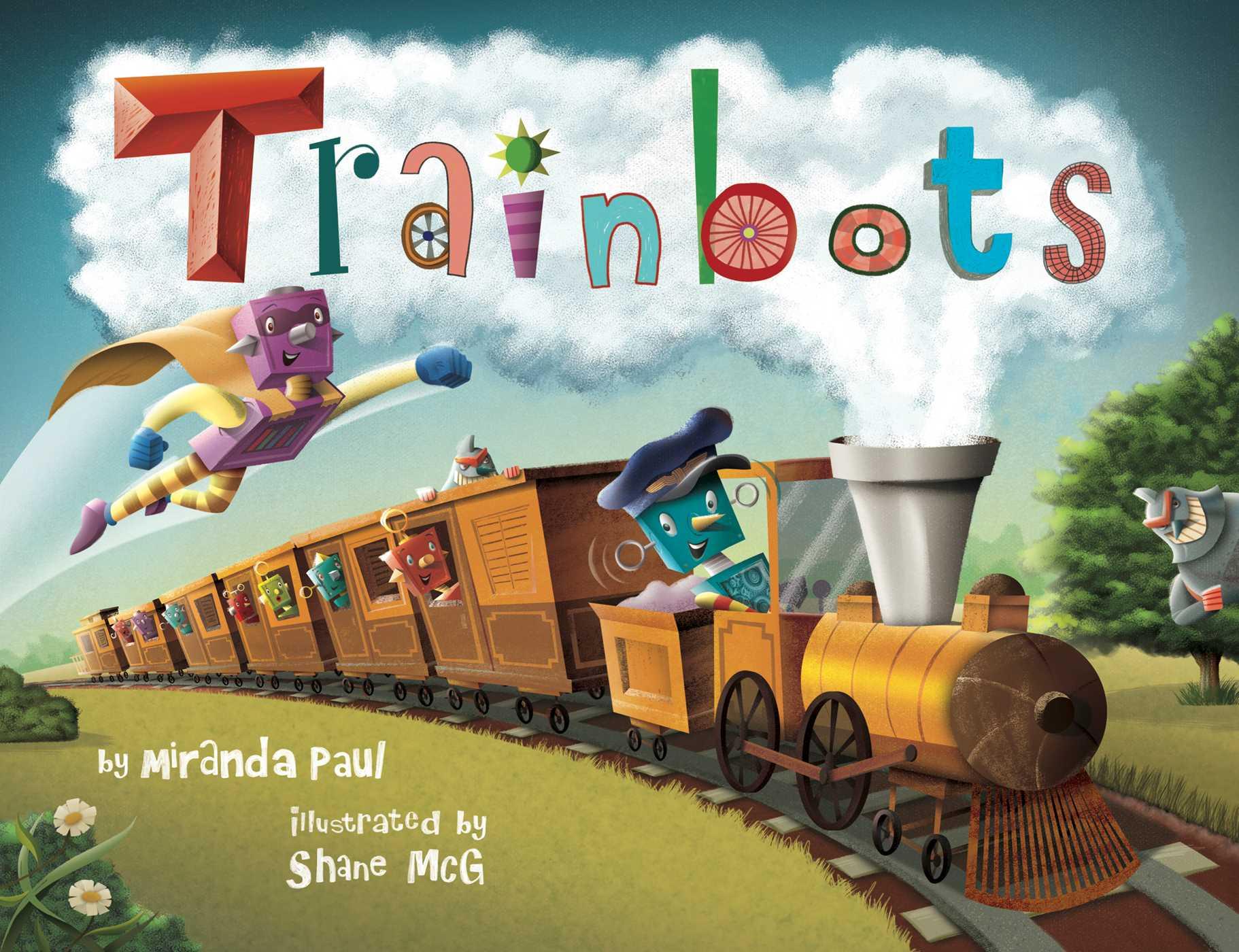 Trainbots 9781499801675 hr