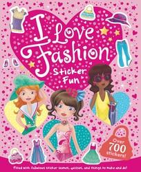 I Love Fashion Sticker Fun