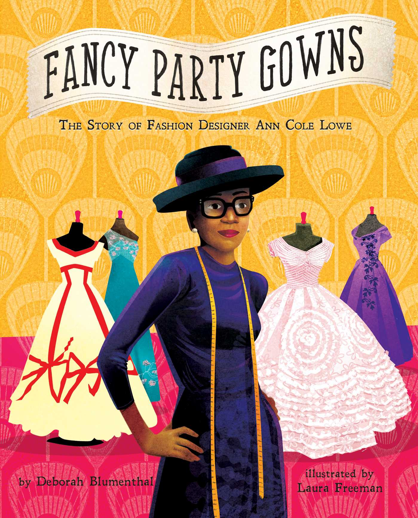 Fancy party gowns the story of fashion designer ann cole lowe 9781499802399 hr