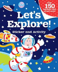 Let's Explore! Sticker and Activity