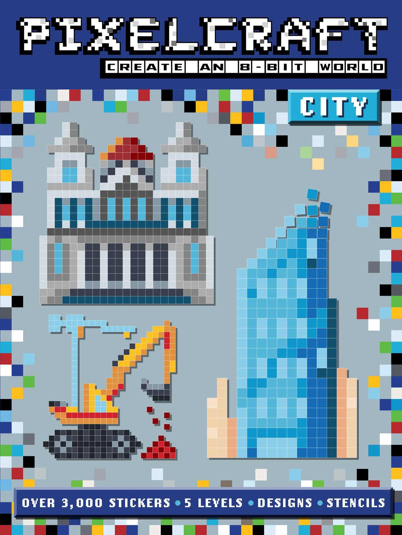 Pixelcraft city 9781499802726 hr