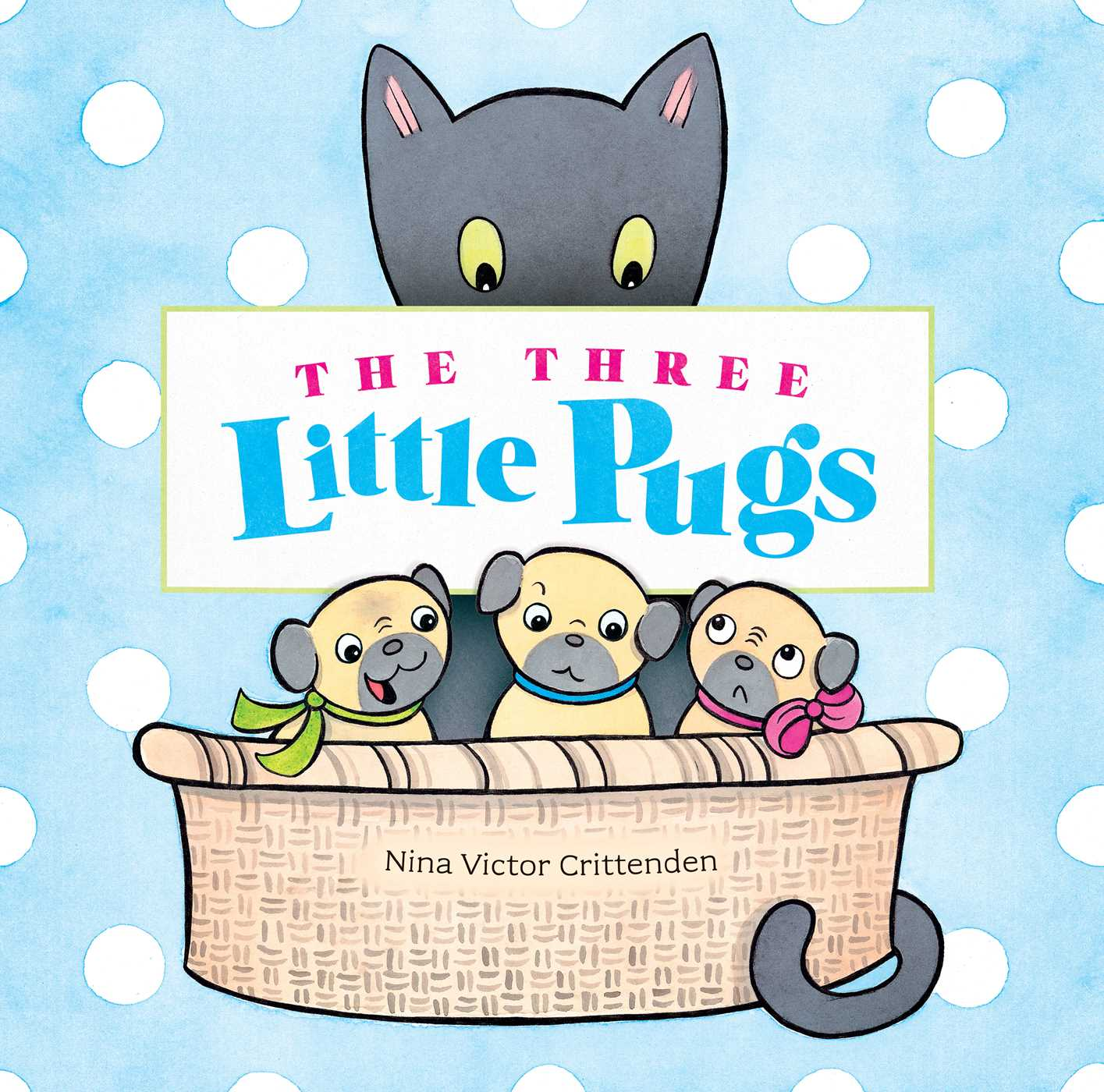 The three little pugs 9781499805291 hr